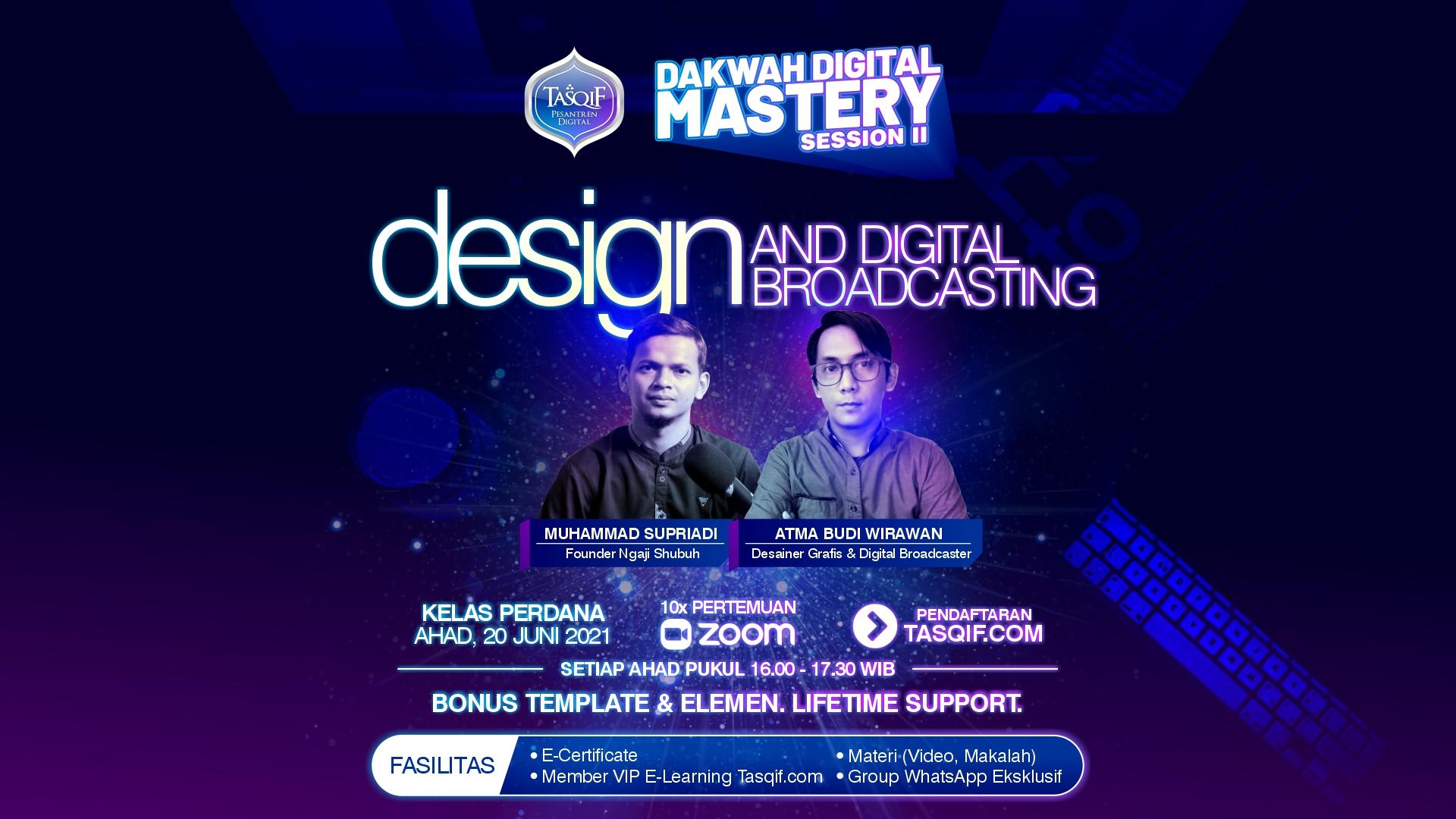 Desain dan Digital Broadcasting