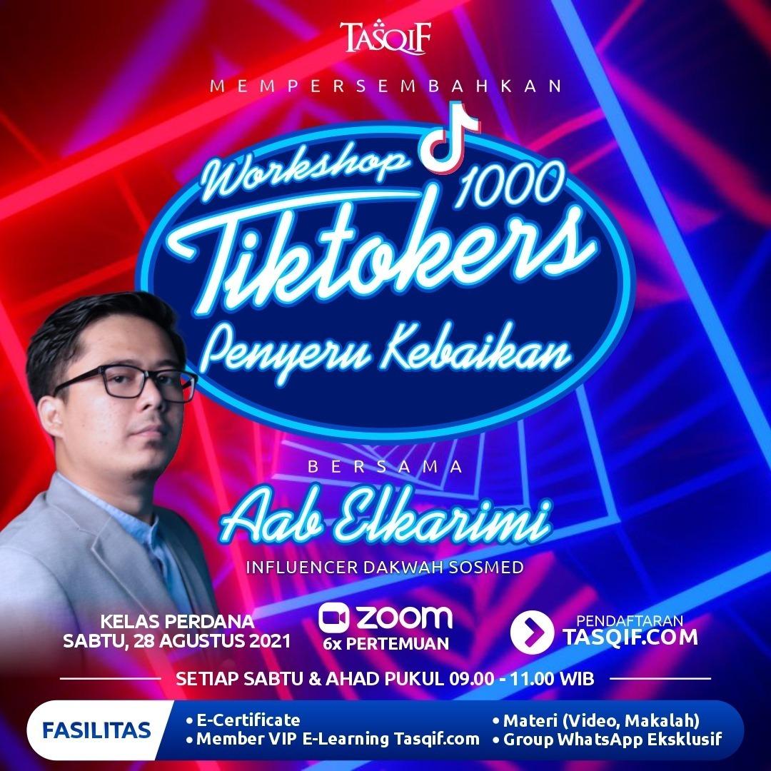 Workshop 1000 Tiktokers