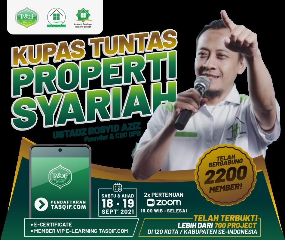 KUPAS TUNTAS PROPERTY SYARIAH - DAFTAR SEKARANG