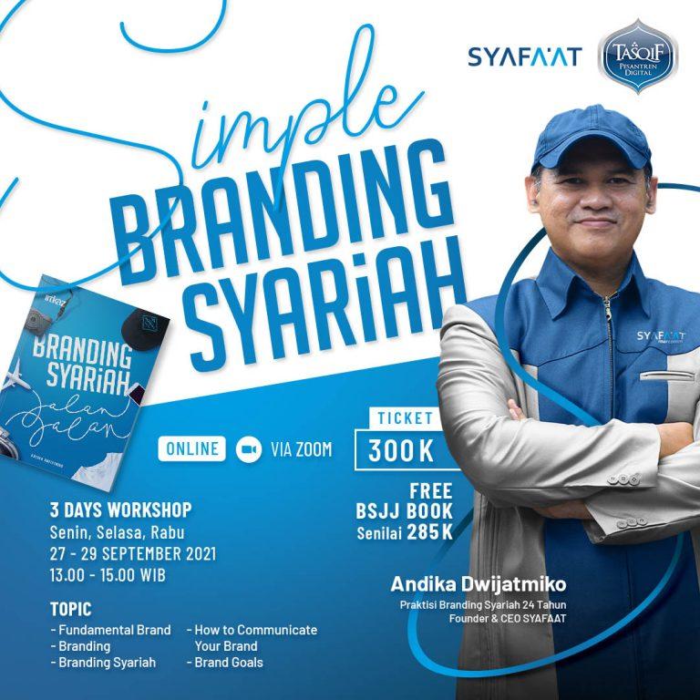 SIMPLE BRANDING SYARIAH