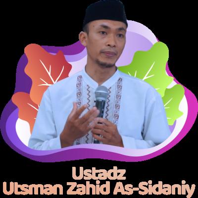 Ustadz Utsman Zahid as-Sidaniy