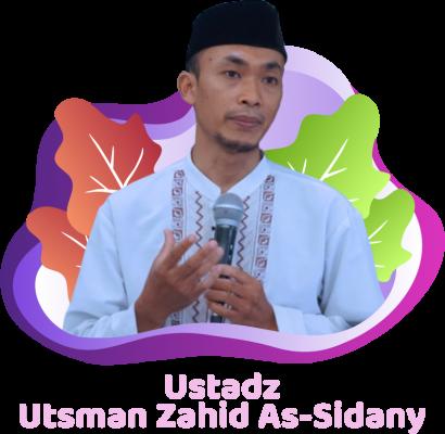 Ustadz Utsman Zahid as-Sidany